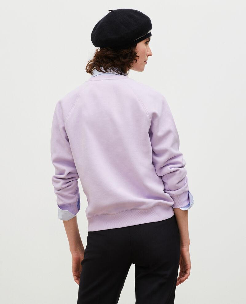 Sweatshirt en molleton Pastel lilac Madeleina