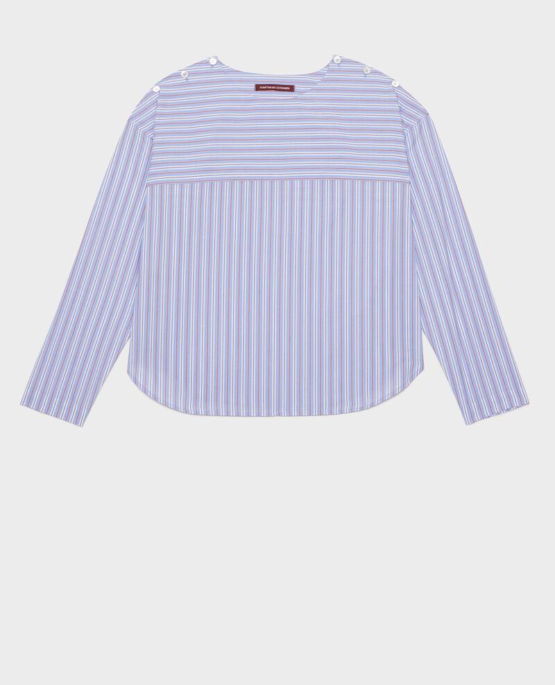 Blouse rayée oversize Popeline stripes Lennon