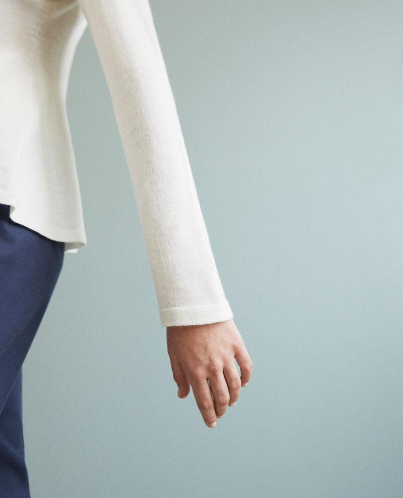 Pull en laine 3D Off white Icarpan