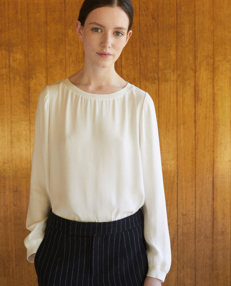 Blouse fluide Off white Gentiane