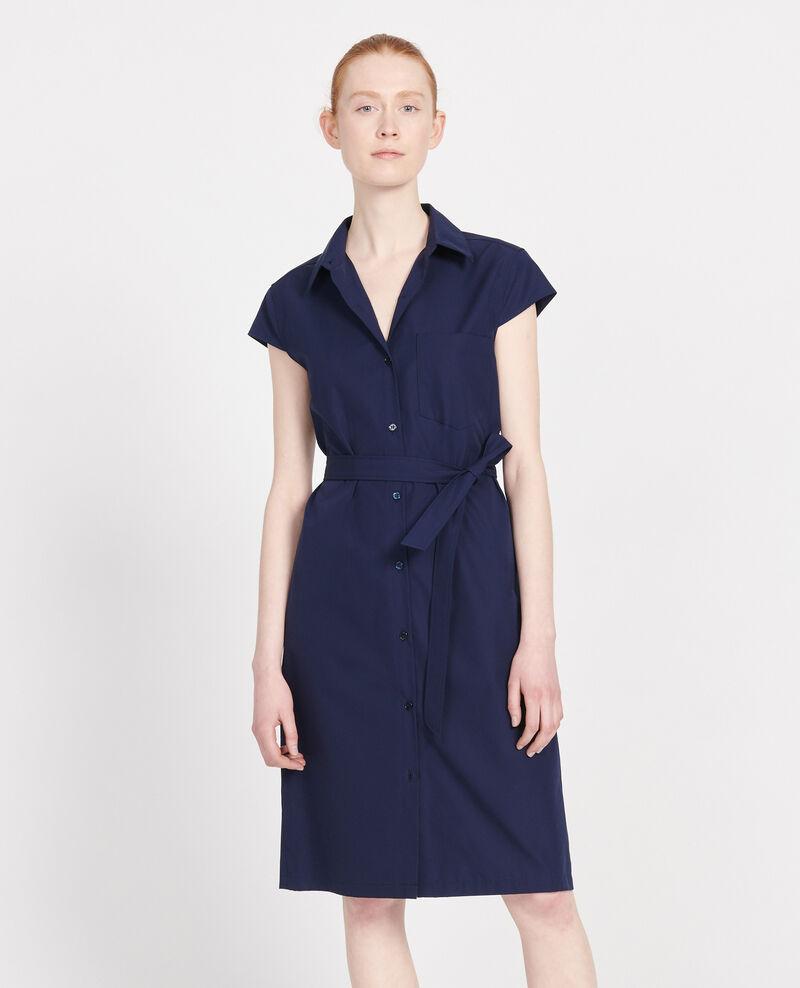 Robe en coton Maritime blue Lelumba