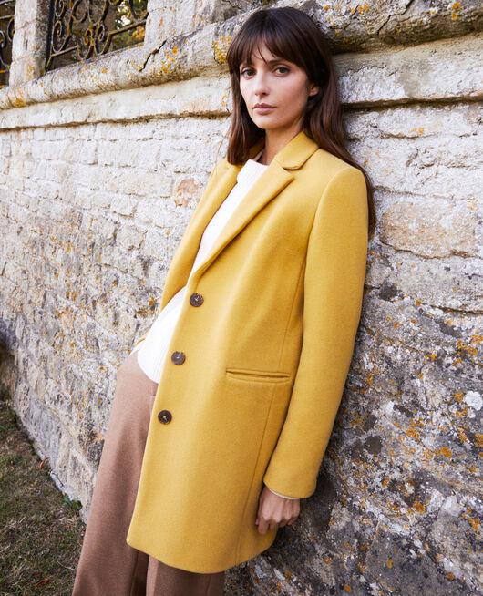 Manteau col tailleur SAUTERNE