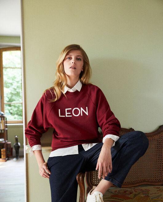 Sweatshirt LEON CABERNET