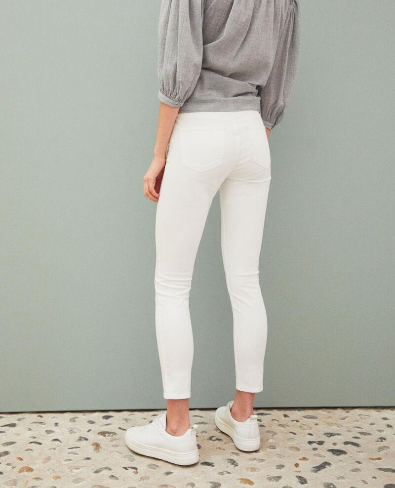 Jean skinny Blanc Ibonaira