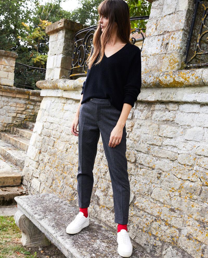 Pantalon de tailleur  Heather grey Jokya