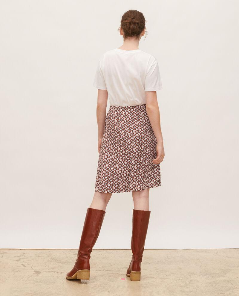 T-shirt coton manches courtes col rond Optical white Lirous