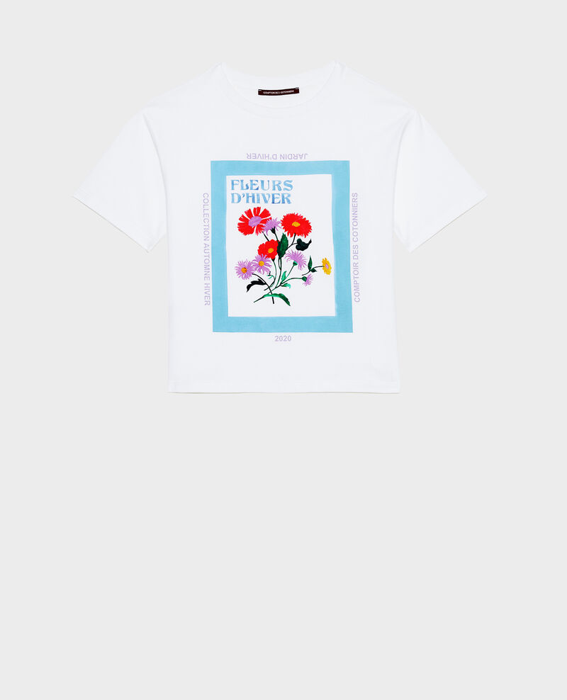 T-shirt en coton manches courtes ample Forget me not Masny