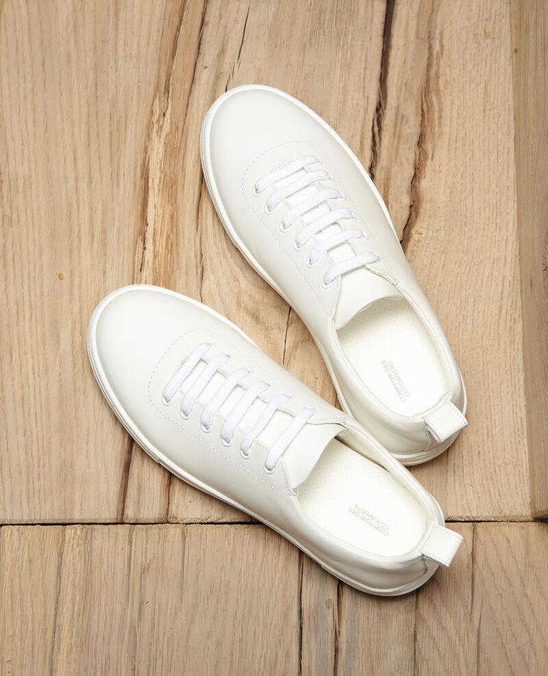 Sneakers à plateforme Blanc Gina