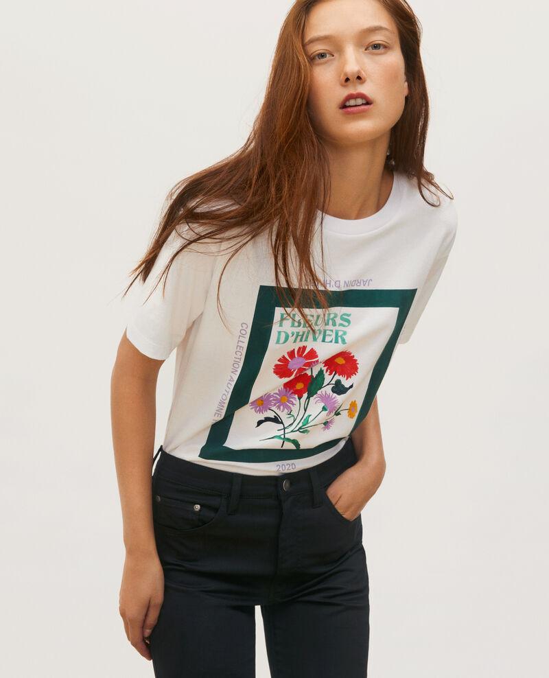 T-shirt en coton manches courtes ample Dark green Masny
