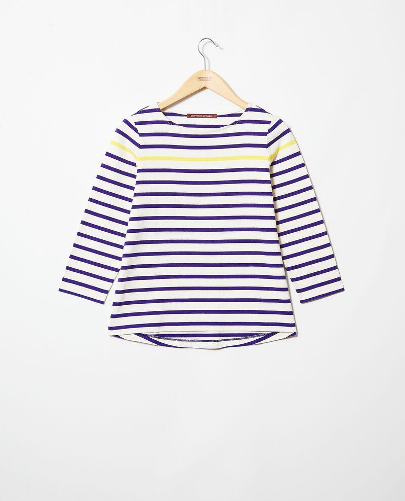 T-shirt marinière Ow/navy/yello Isteria