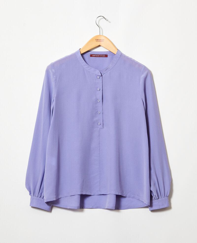 Blouse en soie Purple blue Innocent