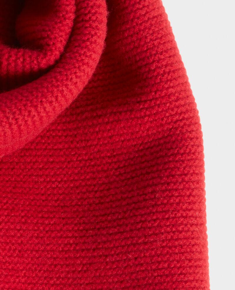 Écharpe longue en laine Royale red Moiron