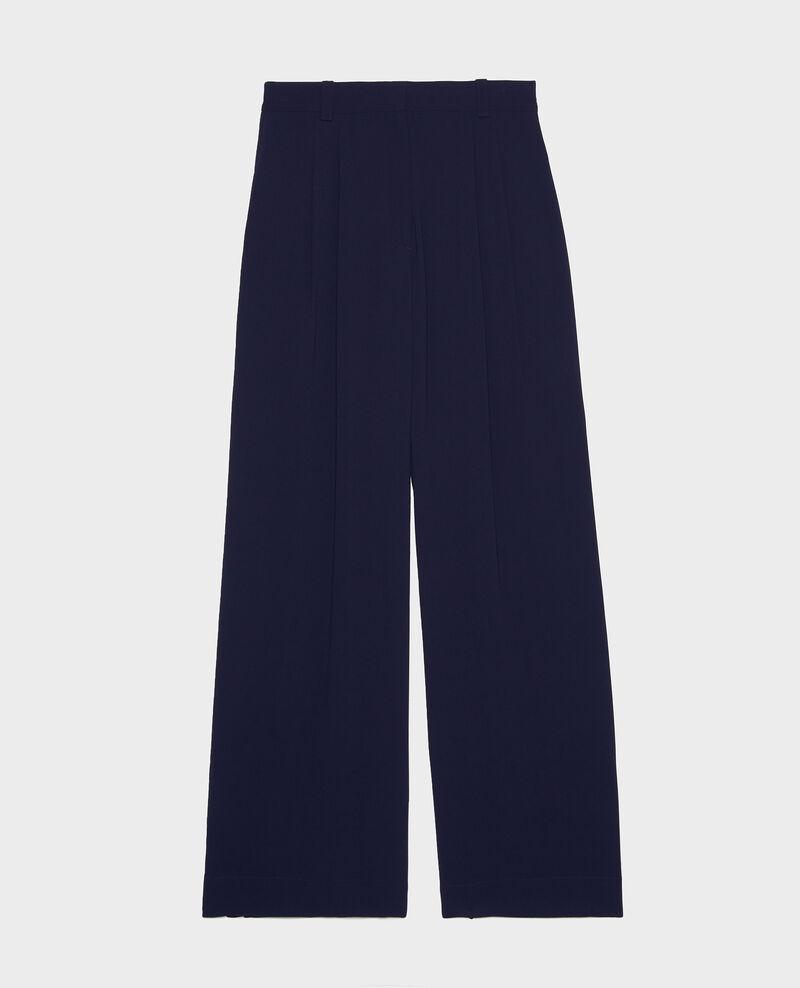 Pantalon à plis Maritime blue Logance