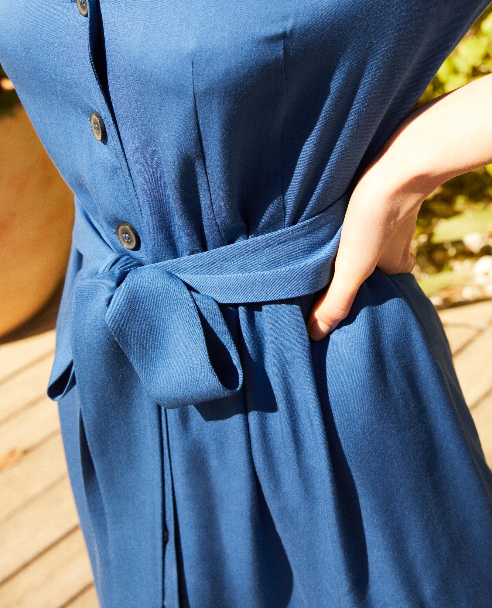 En Imperial Robe Viscose Blue Chemise CdWQxBeEro