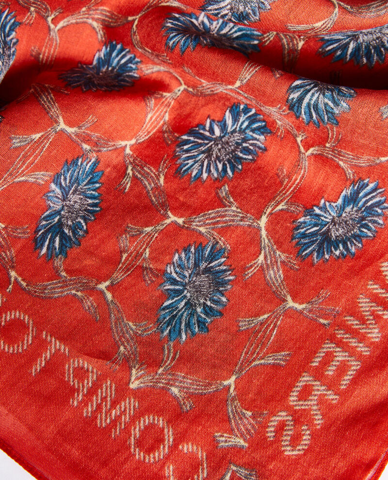 Bandana en coton imprimé Pureed pumpkin Nournesol