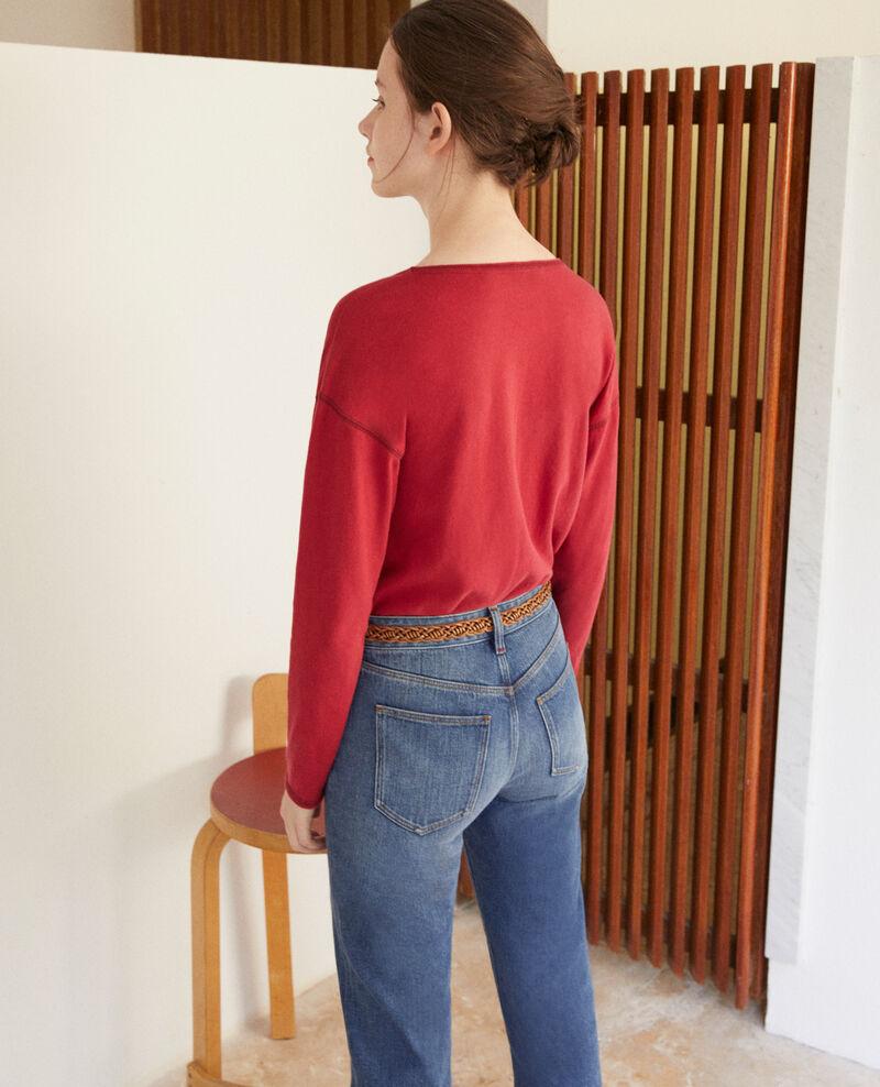 T-shirt en coton Rio red Gonia