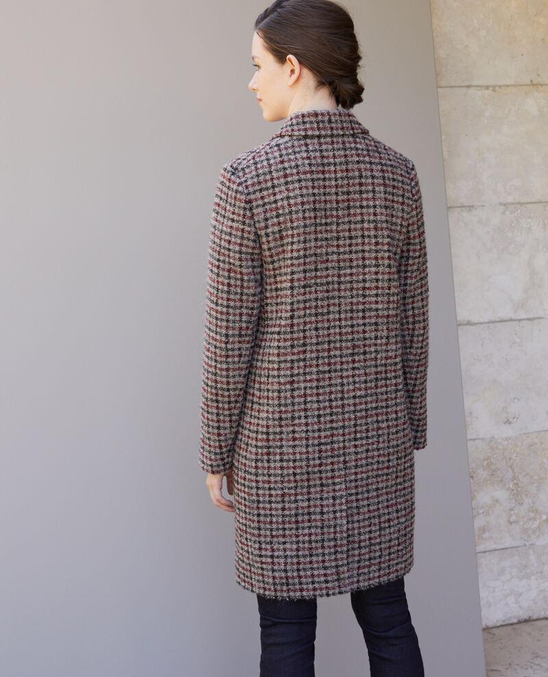 Manteau coupe droite Cowhide Gitchinie