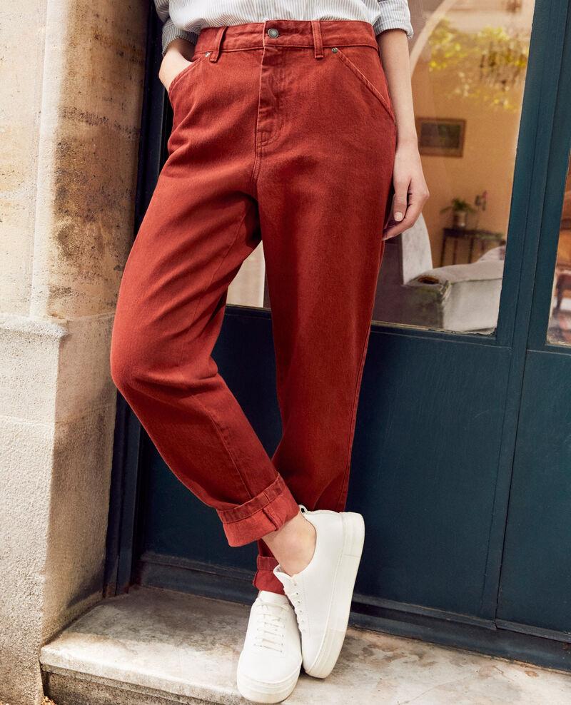 Jean fashion fit Brandy brown Jantone
