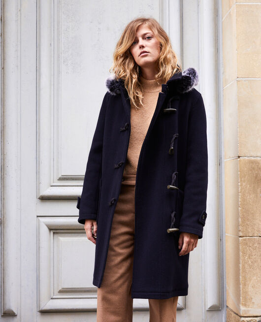 Manteau de style duffle-coat DARK NAVY