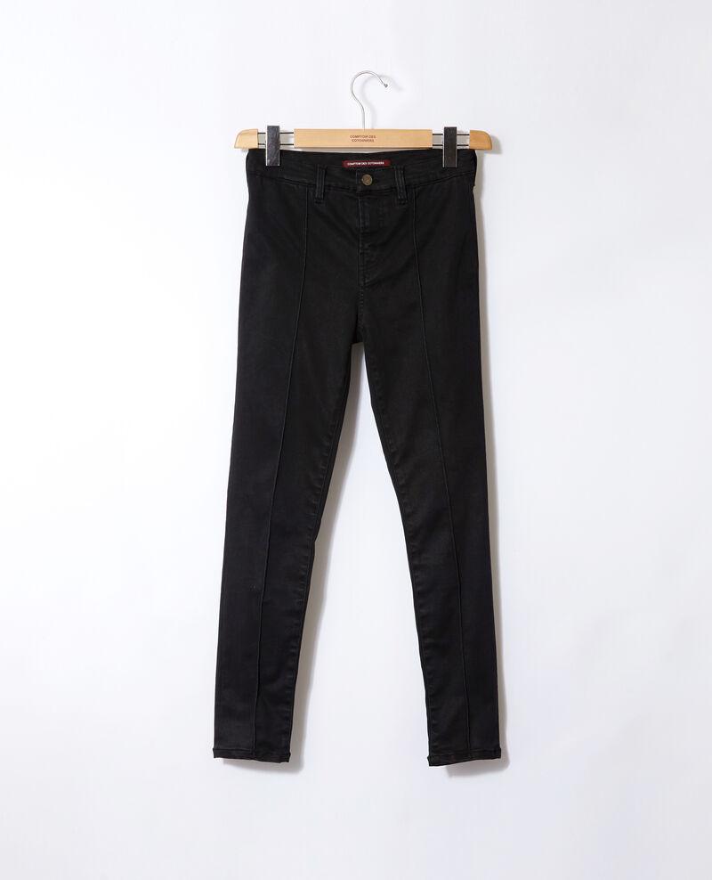 Jean skinny cropped 7/8 Faded black Gireg