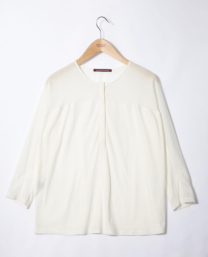 T-shirt bi-matière Off white Genious