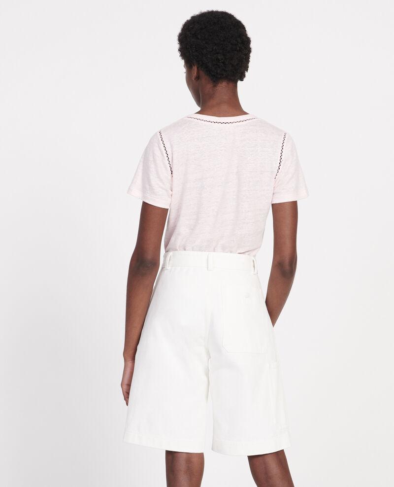 T-shirt en lin jersey  Primrose pink Lye