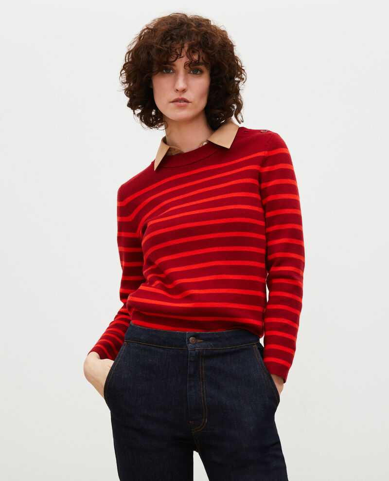 Pull marin en laine Str_ryr_fyr Liselle
