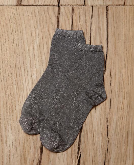 Chaussettes avec lurex MEDIUM HEATHER GREY