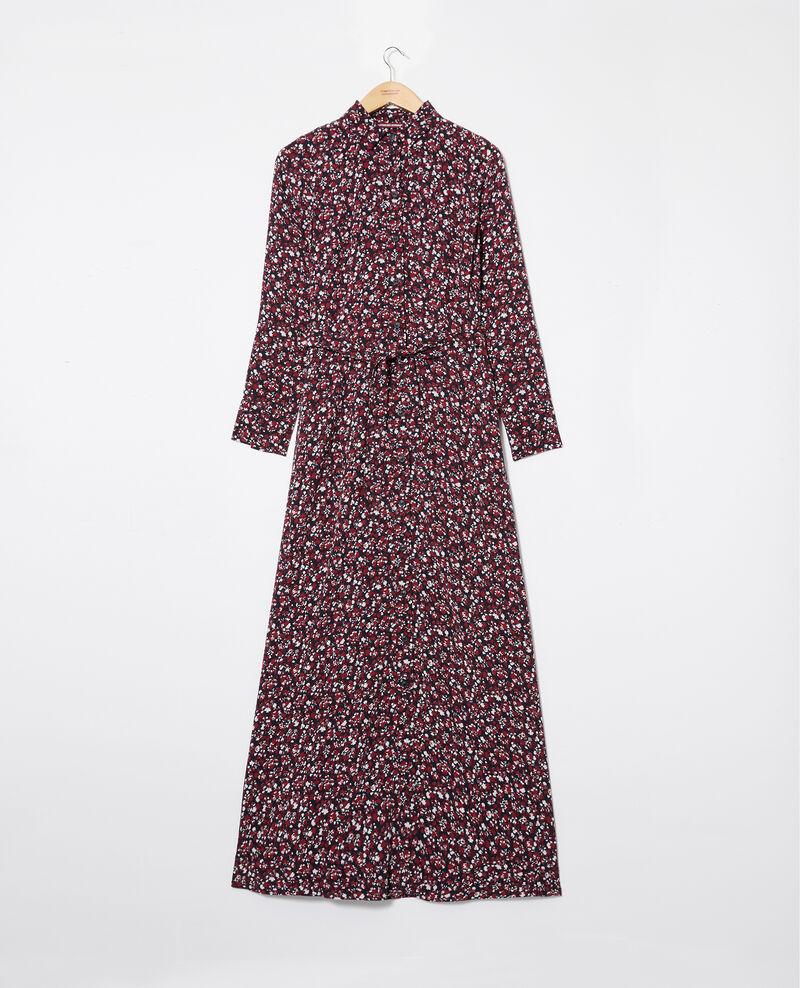 Robe longue imprimée Nf noir Jalaskaia