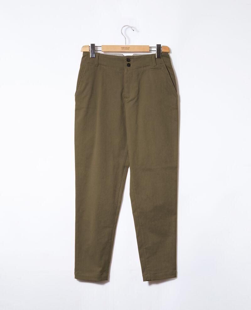 Pantalon chino Olive night Gabini