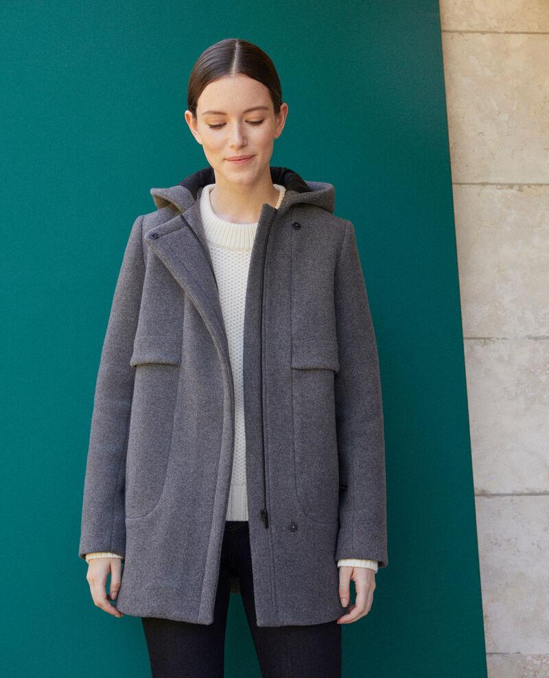 Manteau avec capuche Medium heather grey 9balex