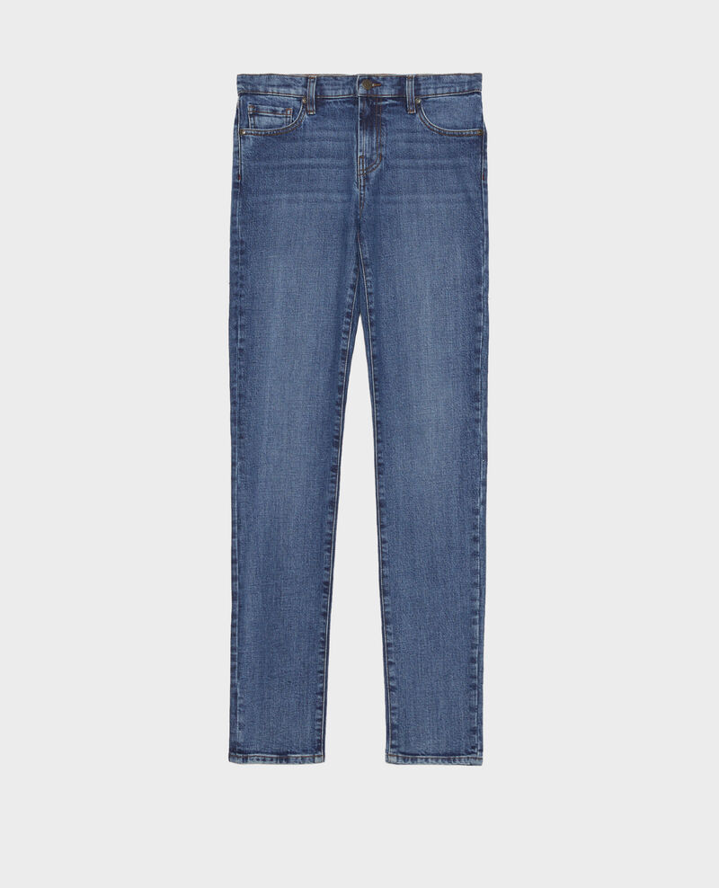 SLIM MID RISE - Jean 5 poches Denim medium wash Mandro
