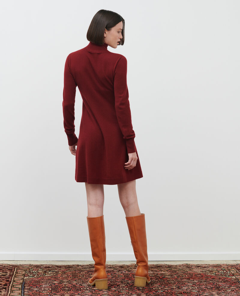 Robe courte en cachemire 3D Cabernet Paulnela