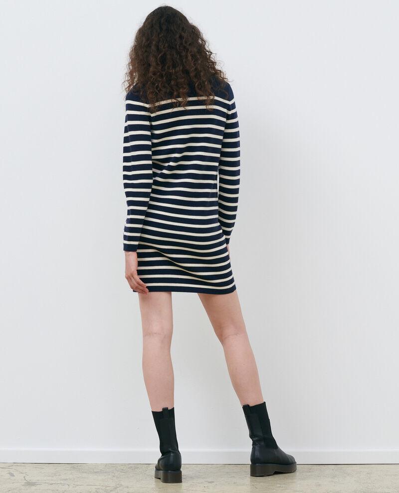 Robe courte marinière Stp nv wht Piselle