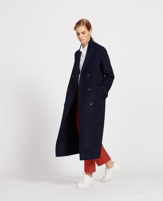Manteau long MARITIME BLUE