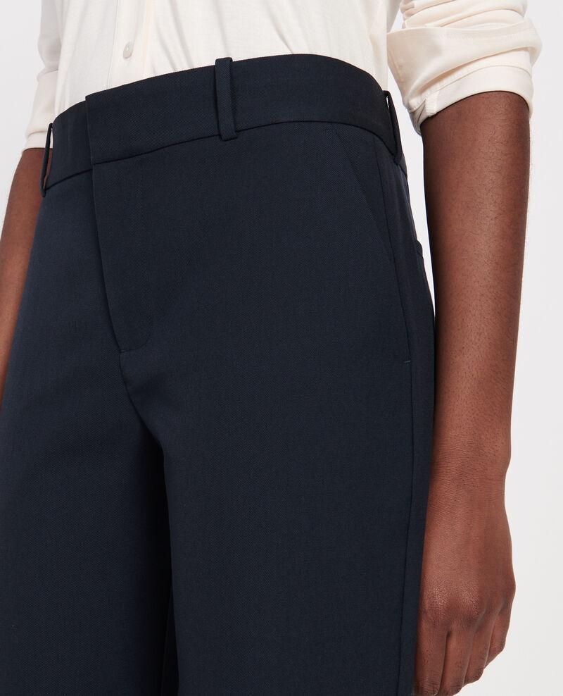 Pantalon masculin en laine sèche Dark navy Lalye