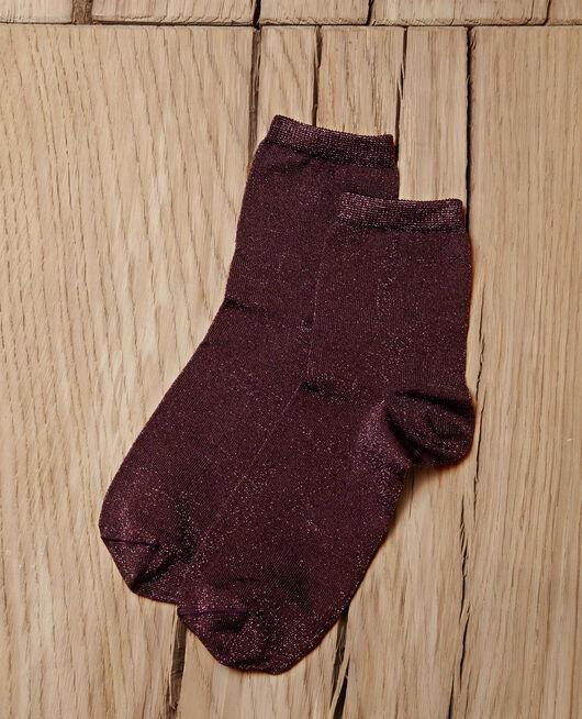 Chaussettes avec lurex PARACHUTE PURPLE