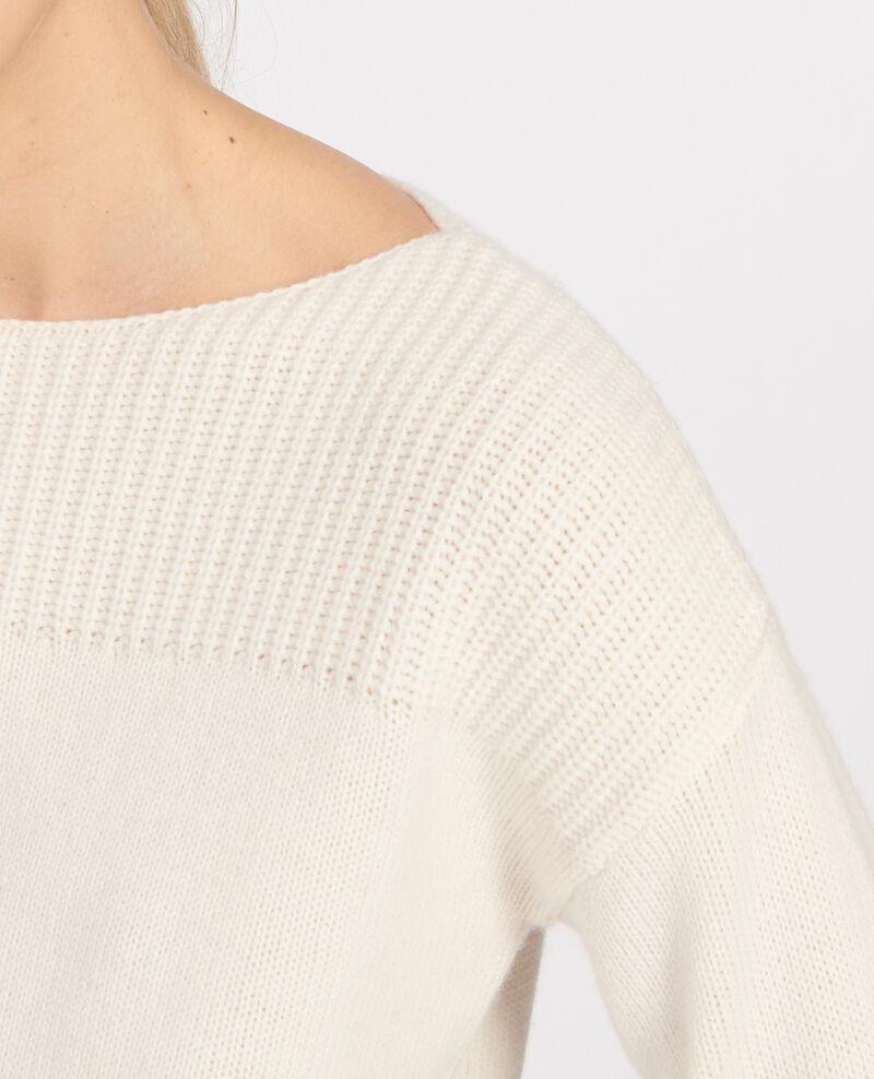 Pull en laine et cachemire Buttercream Lalane