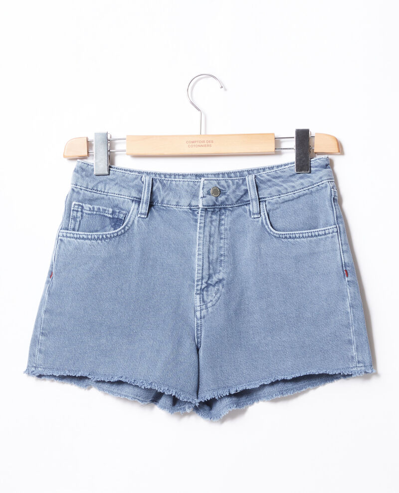 Short avec franges Alpine blue Fintashort
