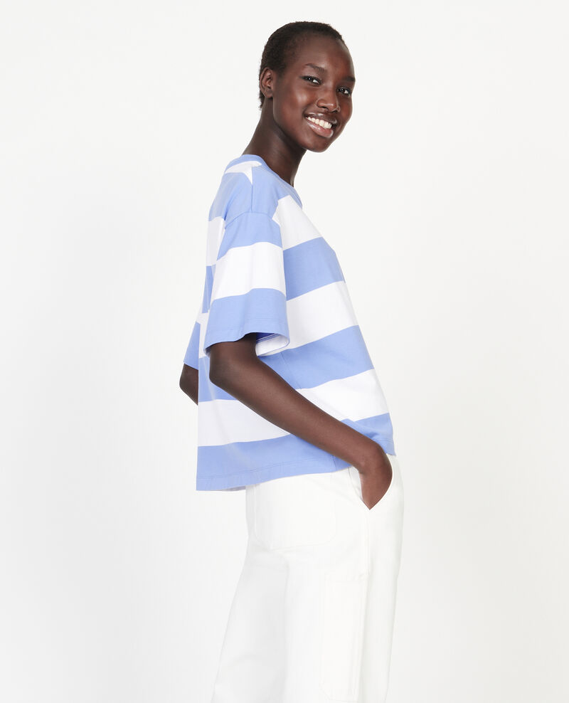 T-shirt en coton mercerisé Str opticalwhite persianjewels Lord