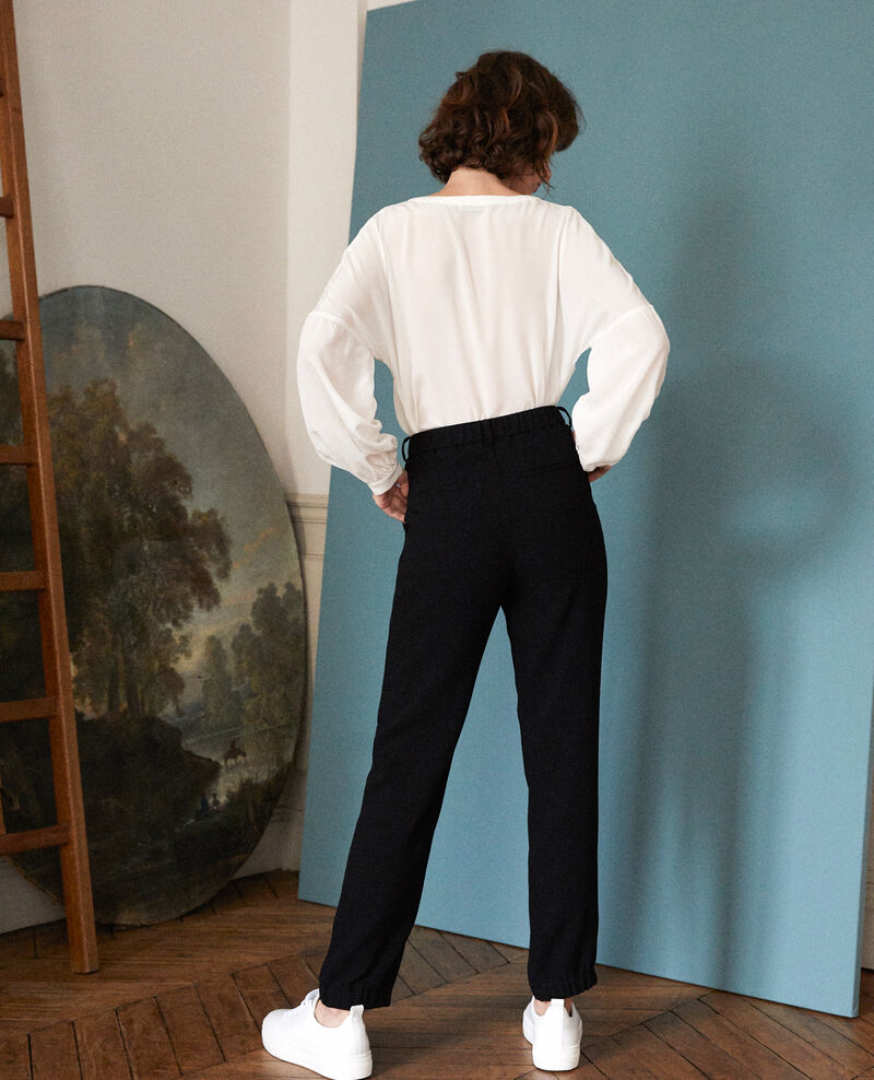 Pantalon de costume Noir Girl