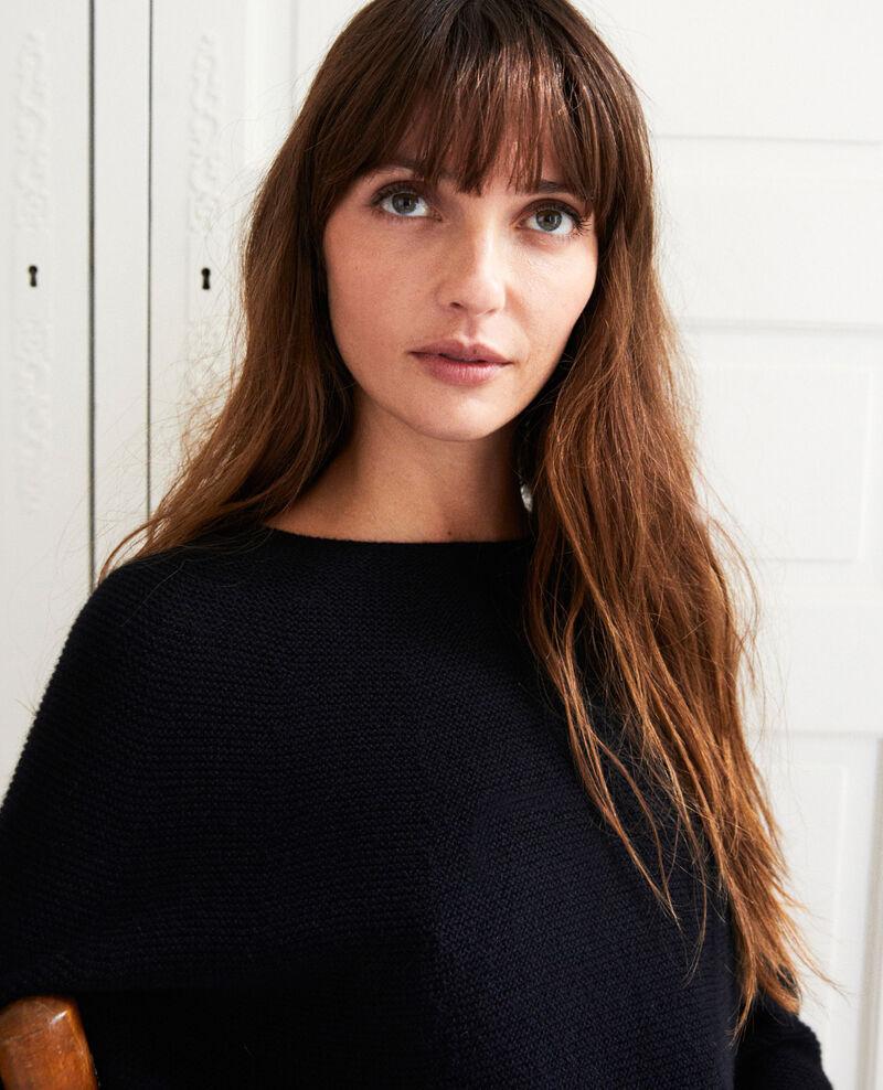 Robe pull 100% cachemire Noir Joceline