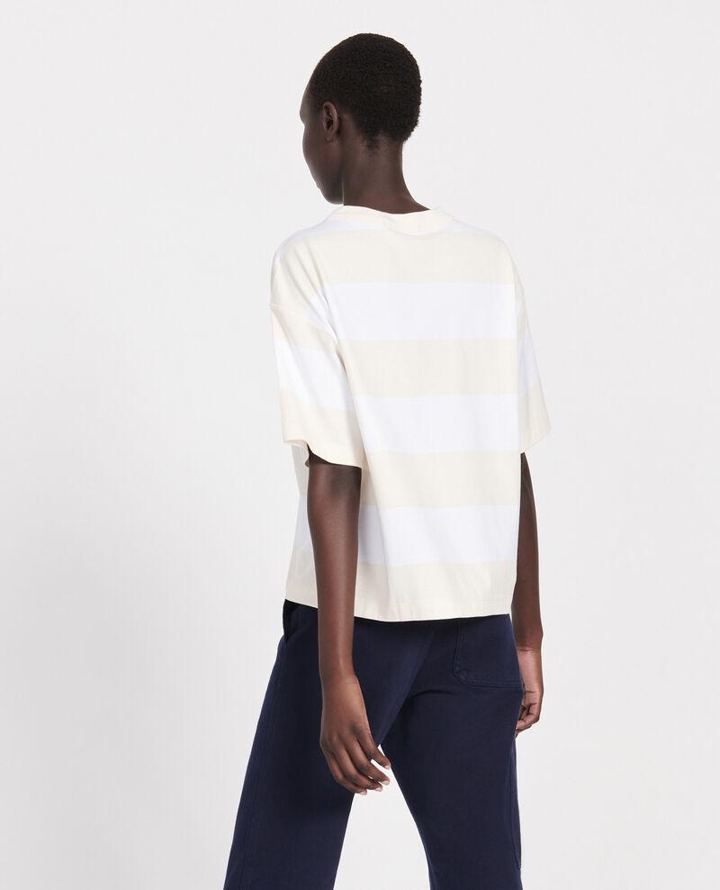 T-shirt en coton mercerisé Str opticalwhite butter Lord