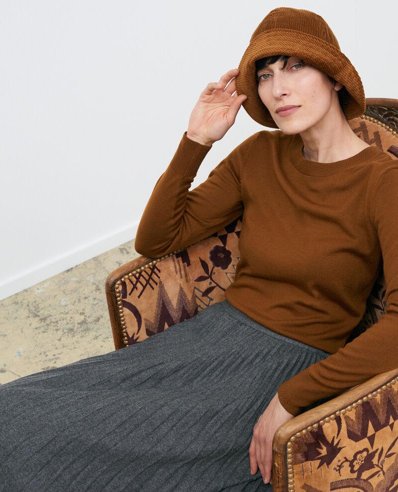 Pull col rond en laine Monks robe Passy