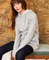 Sweatshirt à capuche Light grey Jasette