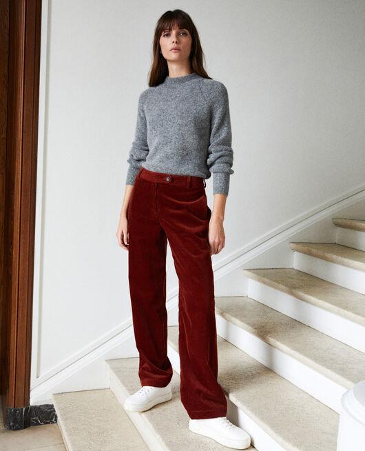 Pantalon en velours côtelé BRANDY BROWN