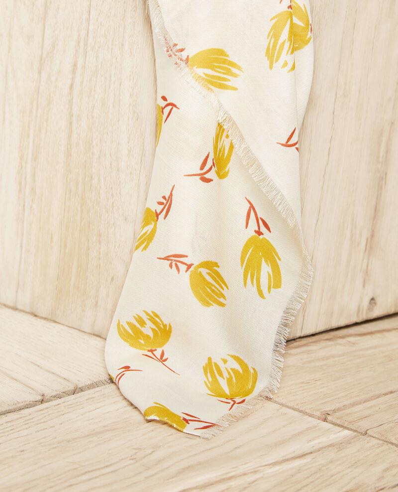 Foulard imprimé Tulip buttercream Julip