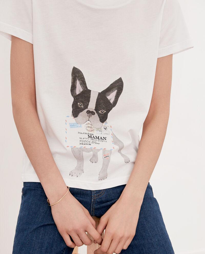 T-shirt Léon Off white Flippo