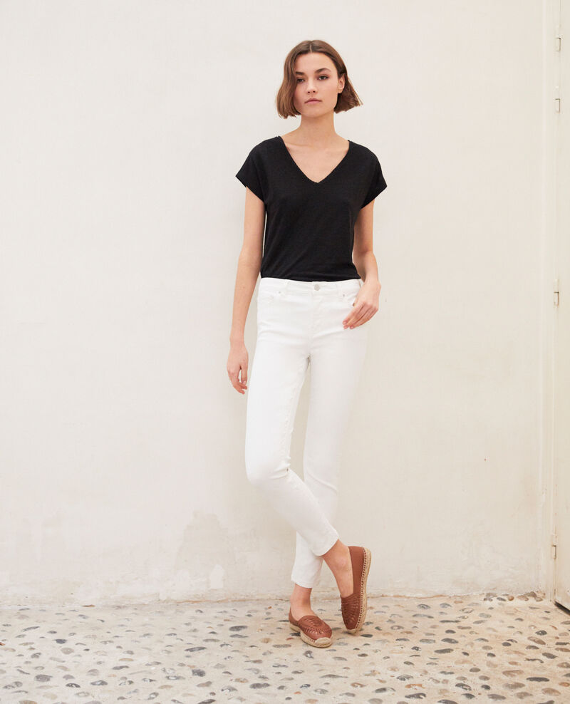 Jean skinny regular Off white Igoata