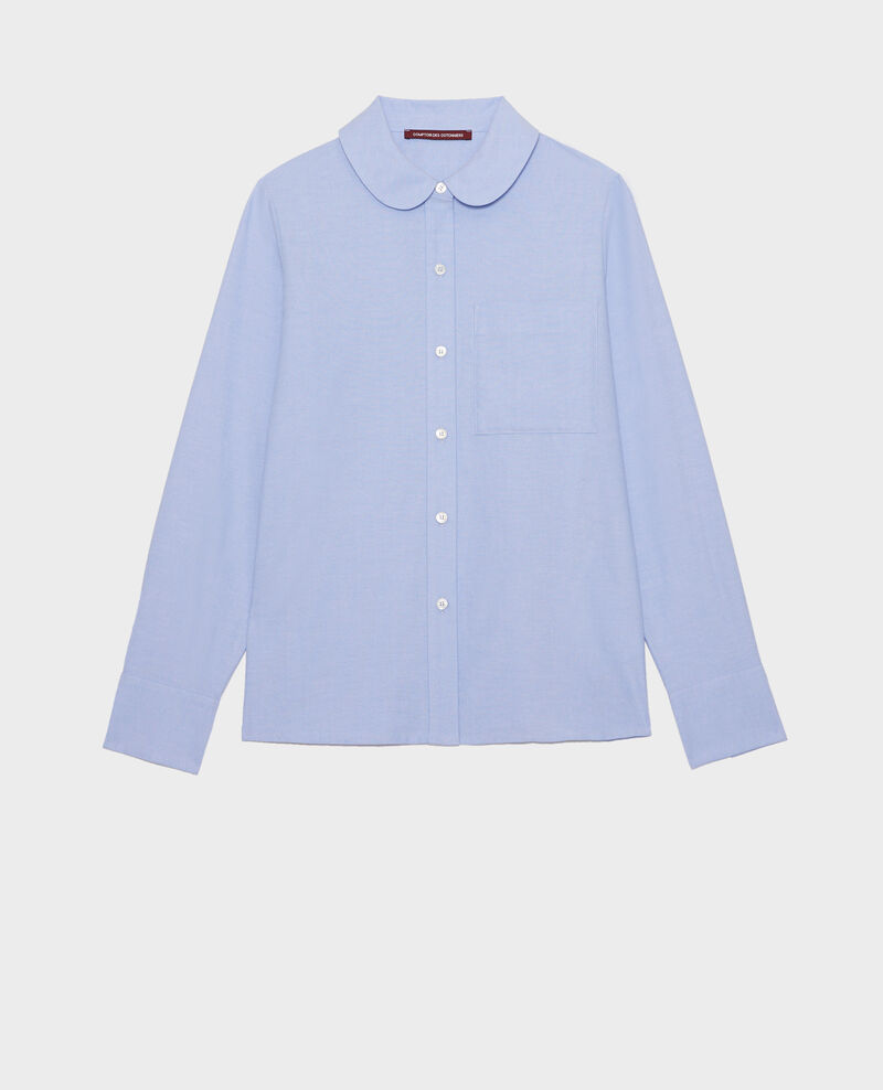 Chemise en oxford Chambray blue Lalica